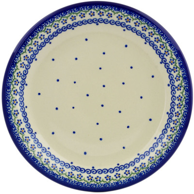 "Polish Pottery Plate 10"" Simplicity"
