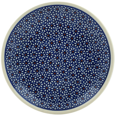 "Polish Pottery Plate 7"" Daisy Dreams"