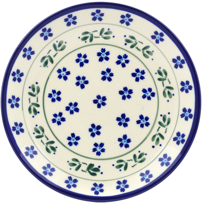 "Polish Pottery Plate 7"" Daisy Field"