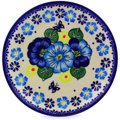 "Polish Pottery Plate 7"" Endless Summer"