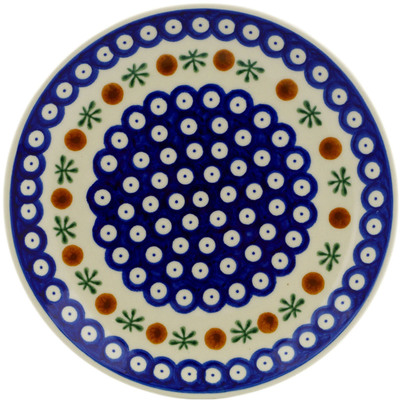 "Polish Pottery Plate 7"" Mosquito"