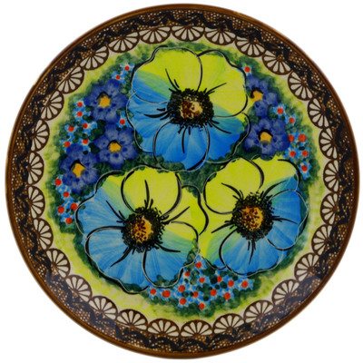 "Polish Pottery Plate 7"" Sweet Emotions UNIKAT"