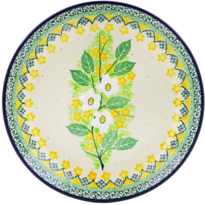 "Polish Pottery Plate 8"" Spring On The Branch UNIKAT"