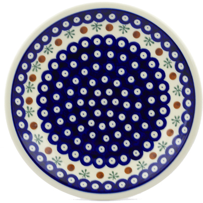 "Polish Pottery Plate 9"" Mosquito"