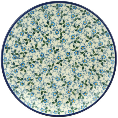 "Polish Pottery Plate 9"" Summer Wind"