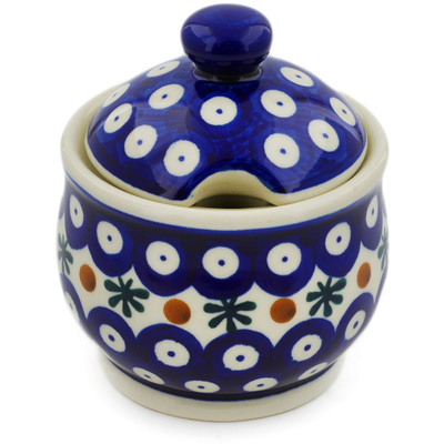 Polish Pottery Sugar Bowl 9 oz Mosquito