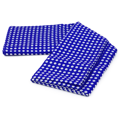 "Polyester Table Cloth 102"" Blue Eyed Peacock"