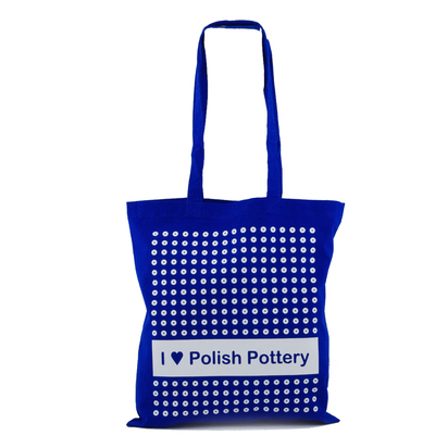 Cotton Tote Shopping Bag 16 by 15in / Handle Drop: 13in Blue Eyed Peacock