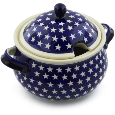 Polish Pottery Tureen 101 oz America The Beautiful